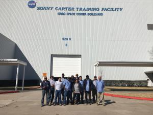 LU551 Members Help Fast Post-Hurricane Harvey Recovery at NASA