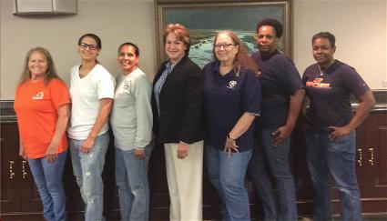SIBs Meet with Texas DA Candidate